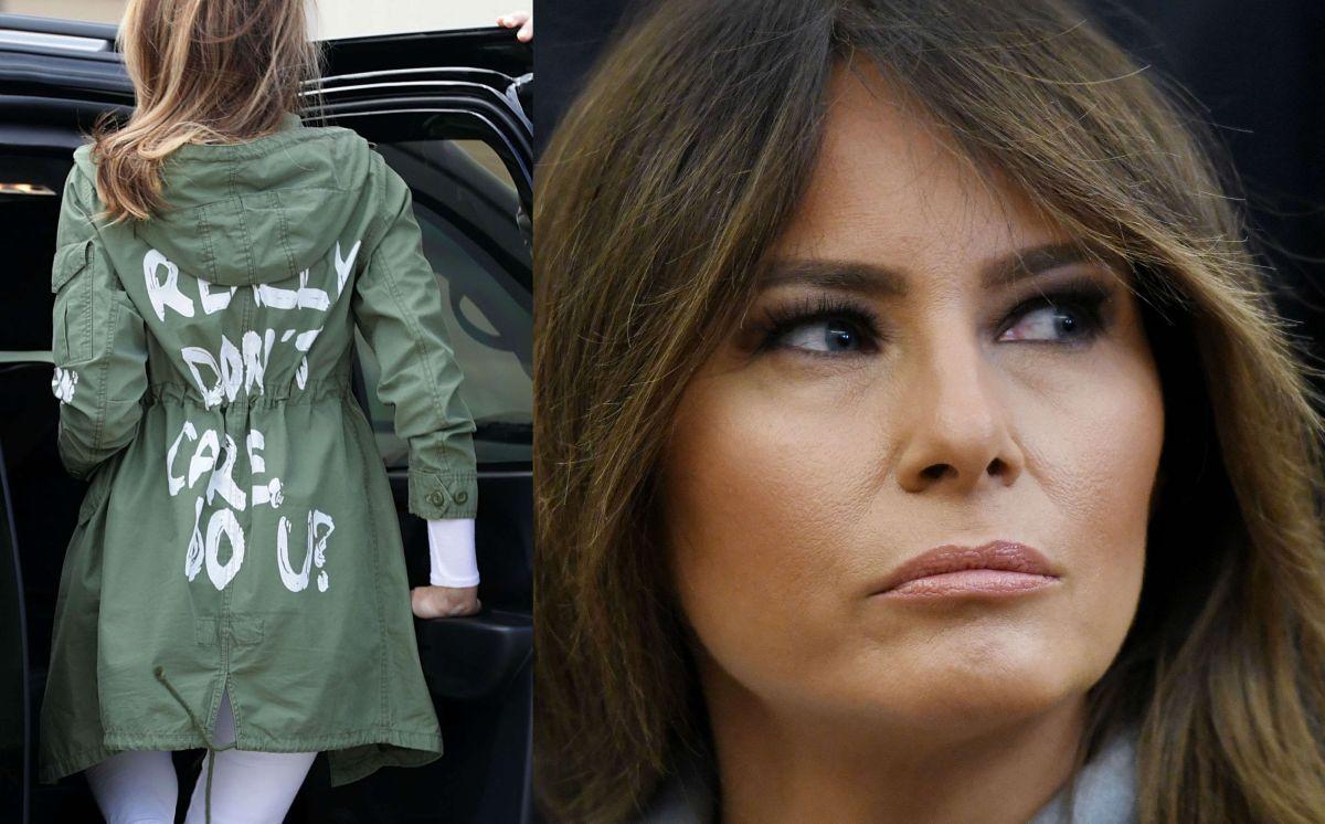 """Luego de polémica """"fashionista"""" en visita a menores inmigrantes, Melania contradice abiertamente a Trump"""