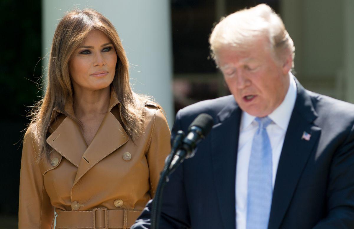 Trump publica en Facebook foto con Melania y desata polémica