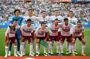 México, el último sobreviviente de entre los campeones regionales en Rusia 2018