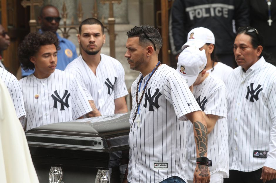 """""""¡Justicia para Junior!"""", reclaman en funeral de Lesandro Guzmán-Feliz en El Bronx"""