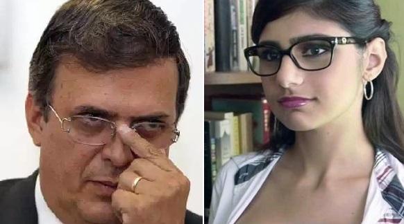 Mano derecha de AMLO confunde a Mia Khalifa con destacada estudiante