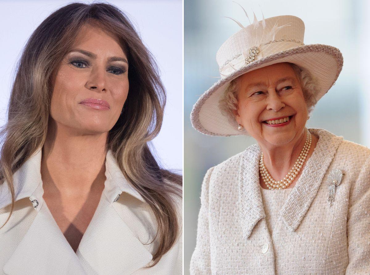 Melania Trump se reunirá con la reina Isabel II