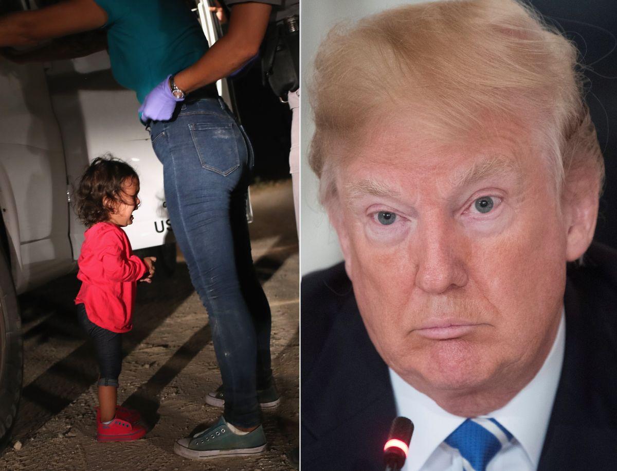 """Trump defiende política contra niños: """"Debemos detener a la gente que llega al país ilegalmente"""""""