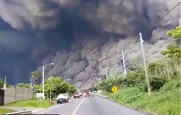 Nueva erupción del Volcán de Fuego: así se vivió en primera línea
