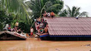 Al menos 20 muertos y cientos de desaparecidos tras el colapso de una presa en el sur de Laos