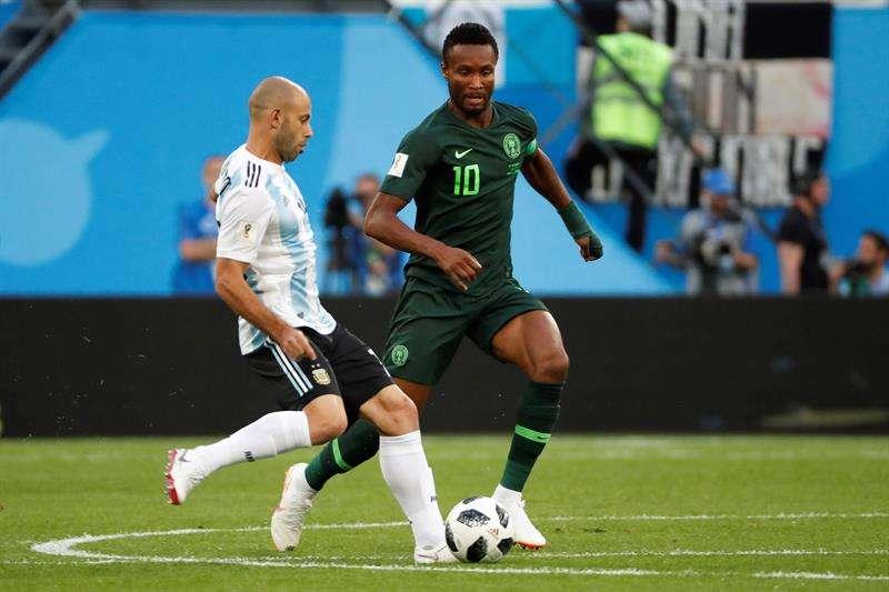 John Obi Mikel jugó contra Argentina pese a saber del secuestro de su padre