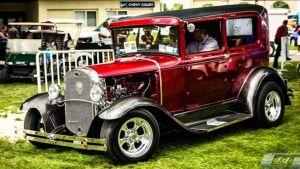 El Syracuse Nationals Auto Show llena der color al Noreste