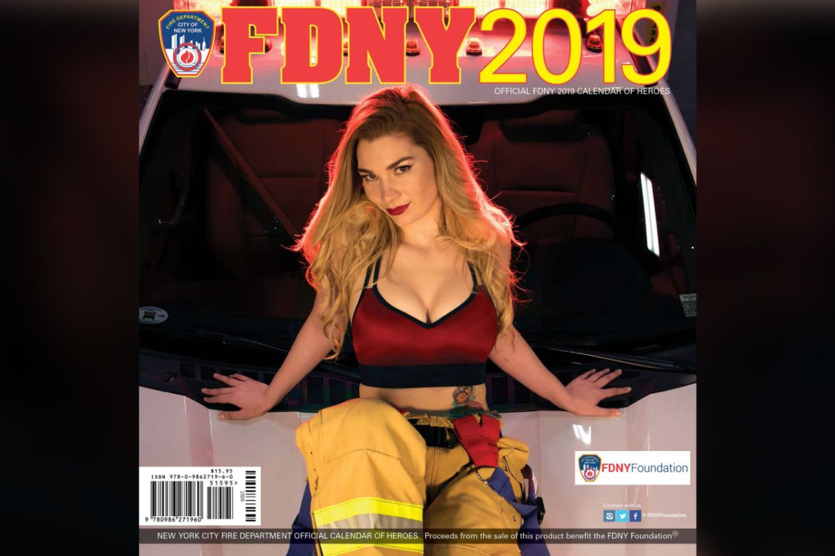 Bomberos adelantan fin de año con calendario erótico a beneficio de fundación FDNY