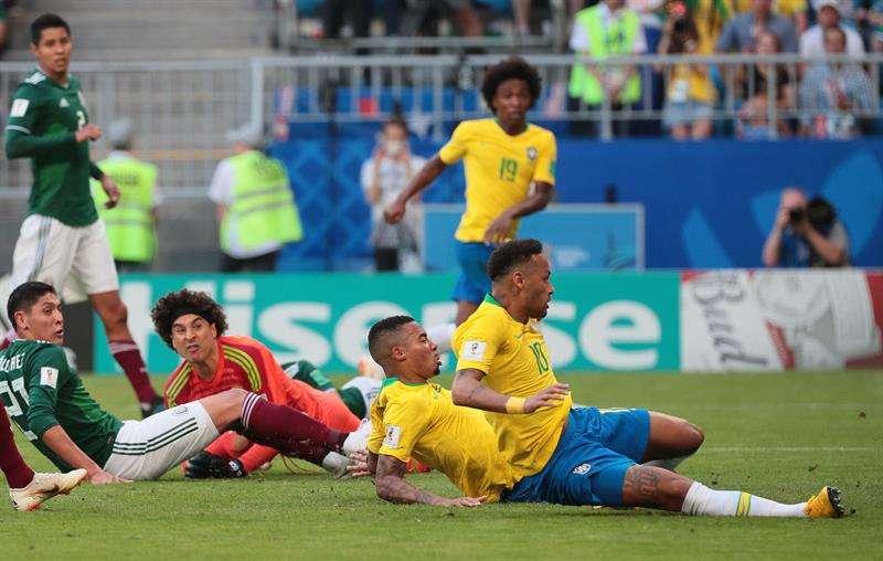 Brasil elimina a México del Mundial gracias a la magia de Neymar