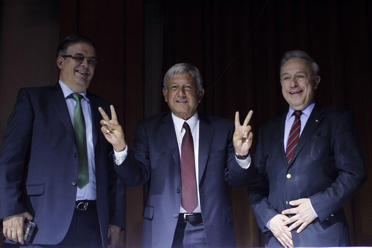 Marcelo Ebrard será el canciller de AMLO que lidiará con Trump