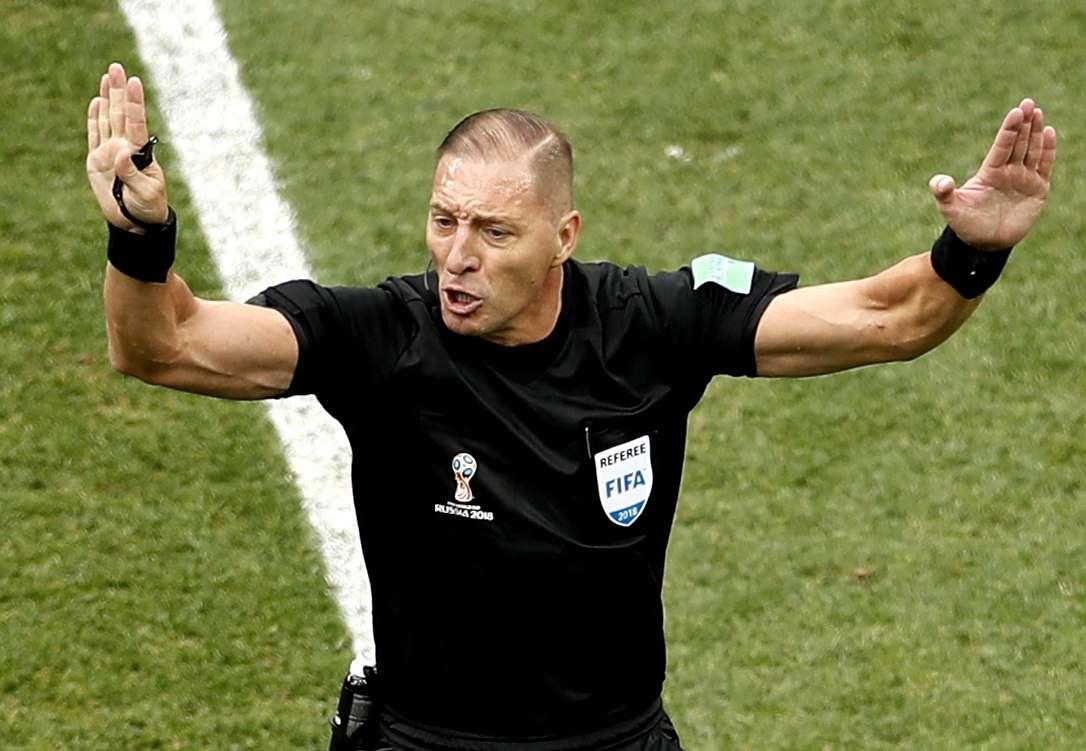 Argentino Néstor Pitana será el árbitro de la final de Rusia 2018