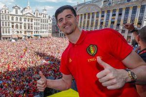 El 'Guante de Oro' en Rusia 2018 Thibaut Courtois apunta al Real Madrid