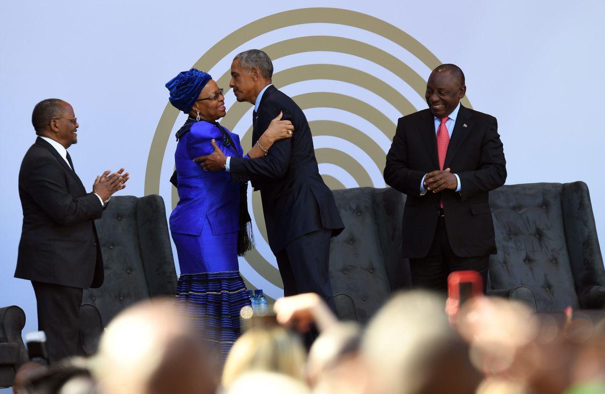 Obama elogia a la selección de Francia durante centenario de Nelson Mandela