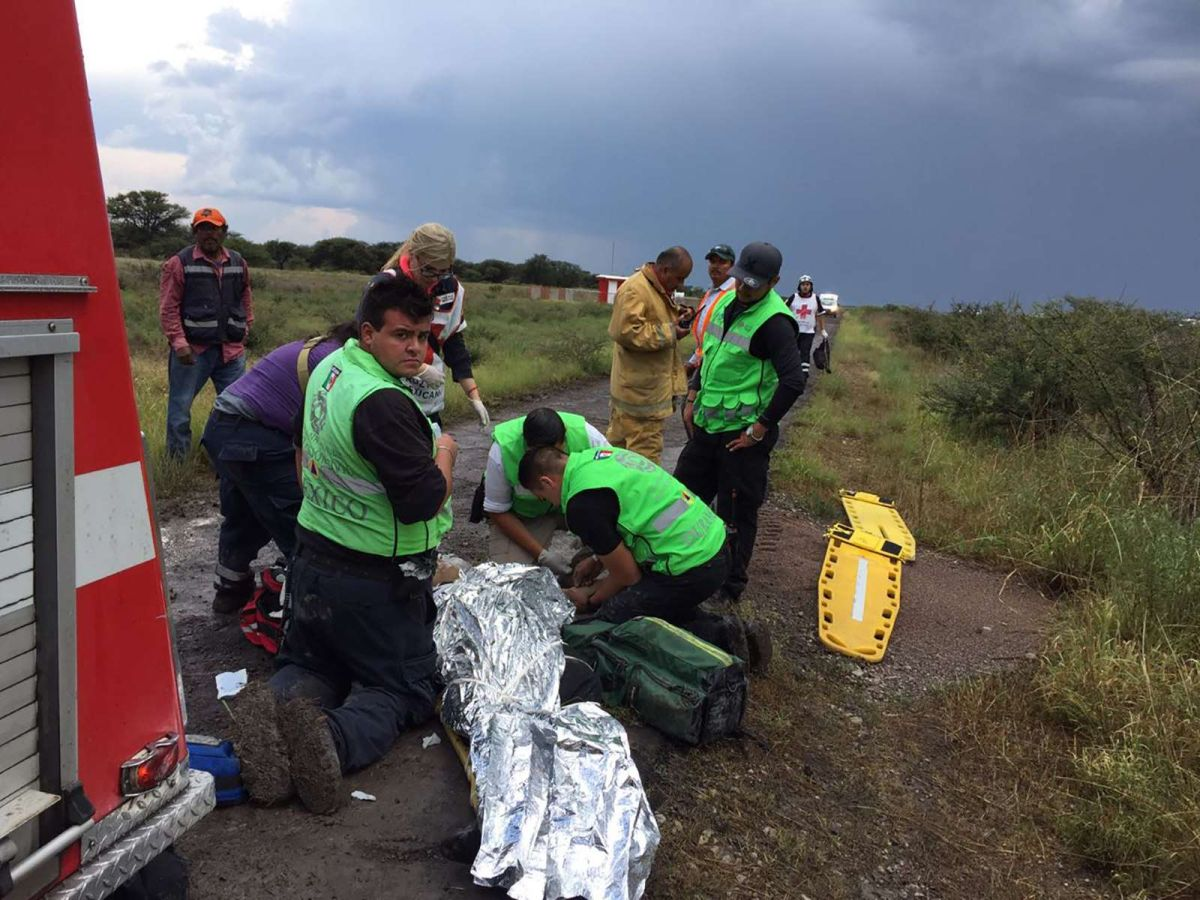 Al menos 12 pasajeros del vuelo de Aeroméxico permanecen en estado crítico