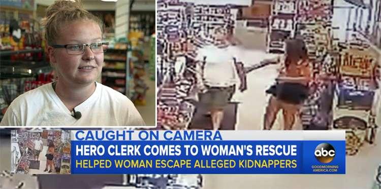 Una mujer secuestrada es liberada gracias a la empleada de la gasolinera.