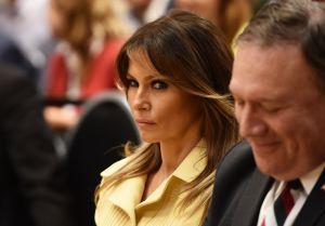 """La reacción de Melania sobre la grabación de Trump negociando dinero para su """"amante"""""""