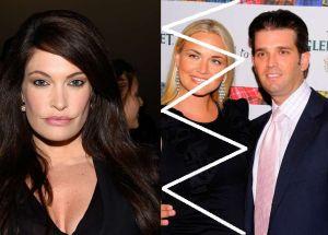 """Nueva novia de Trump Jr. fue """"despedida"""" de Fox News por extraños comportamientos sexuales"""