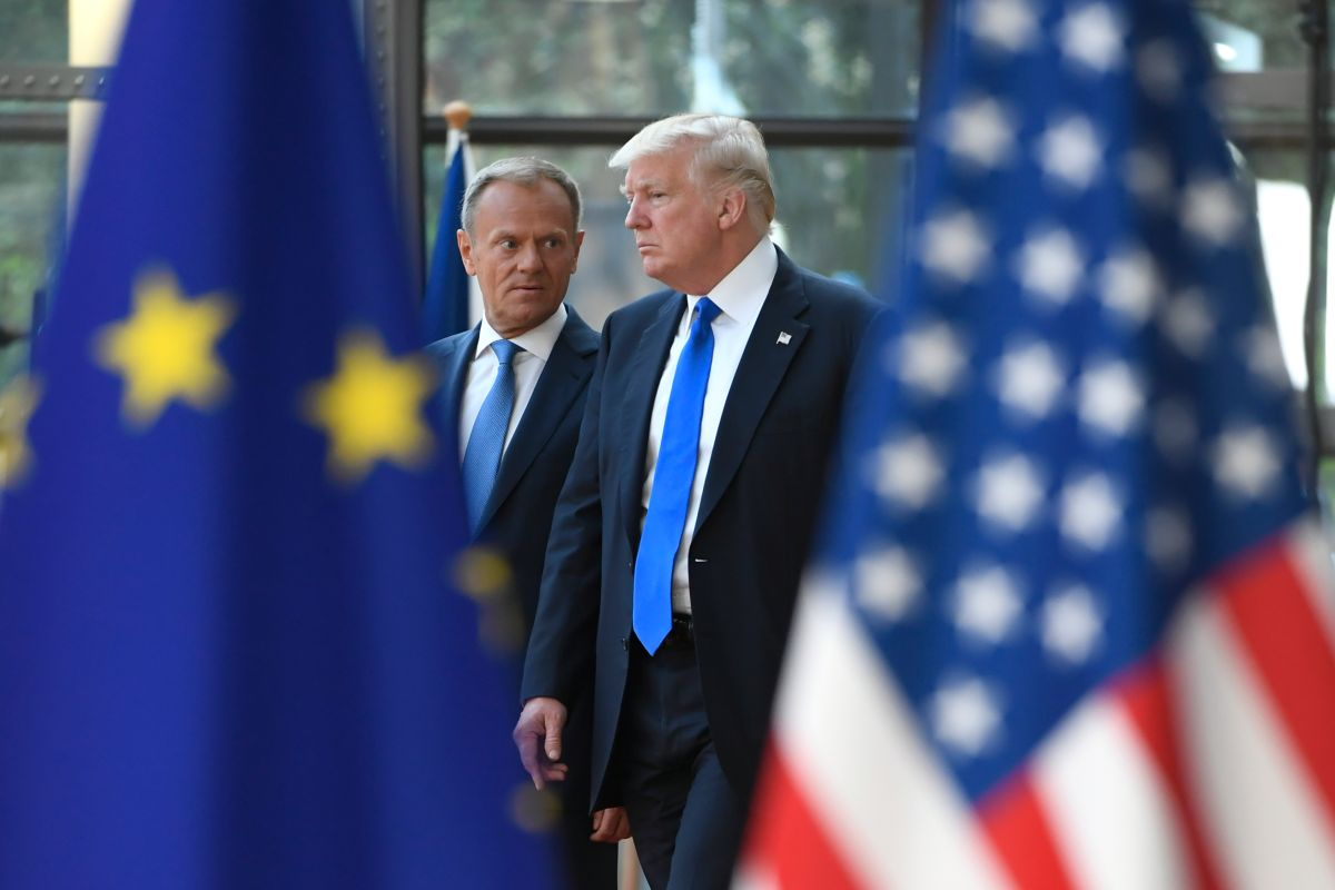 La advertencia de la Unión Europea al presidente Trump