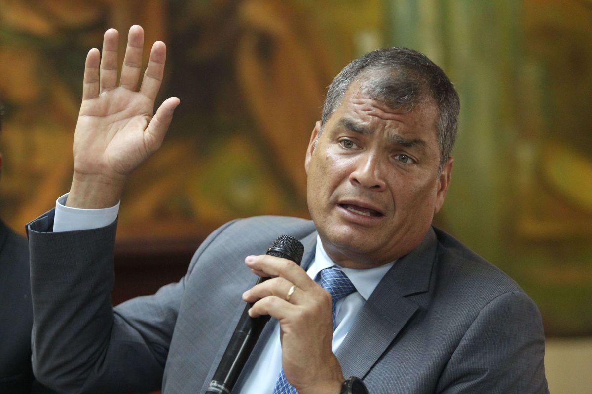 """Expresidente de Ecuador Rafael Correa responde a sentencia por corrupción: """"estaban desesperados para condenarme por algo"""""""