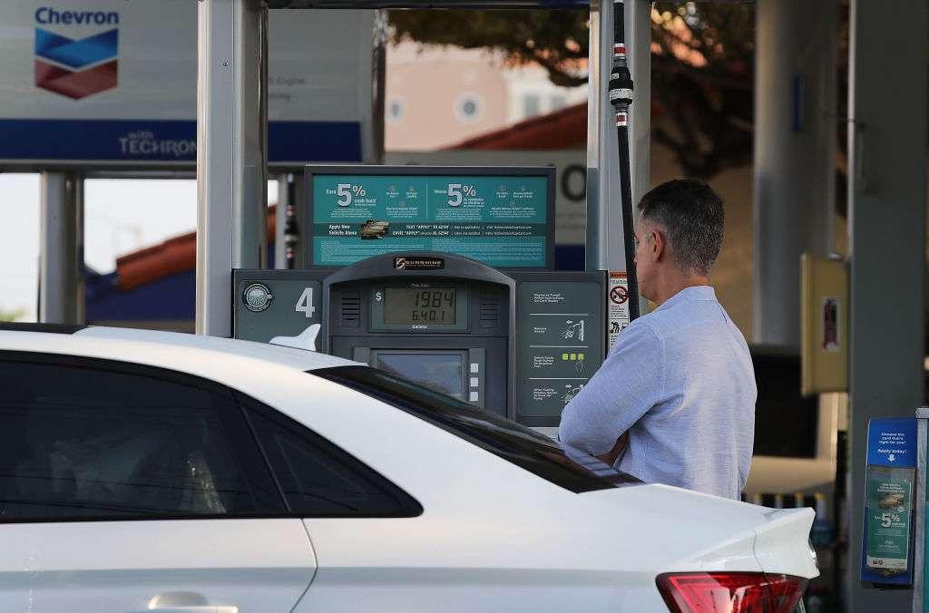 La gasolina sube de precio./Archivo