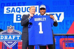 Saquon Barkley, nuevo ídolo de los Giants, el jugador que más vende en la NFL
