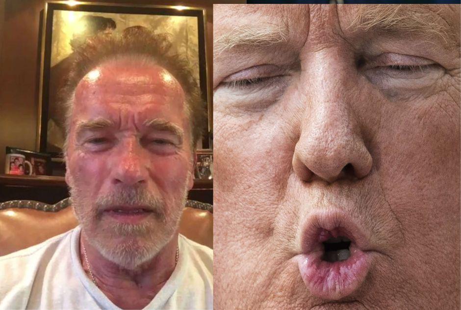 El derechazo de Schwarzenegger a Trump del que todos hablan