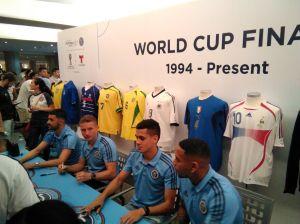 Los jugadores hispanos del New York City ven a Brasil ganador del Mundial