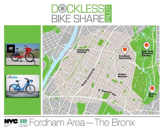 Bicis públicas llegan a El Bronx y ya están en los cinco condados