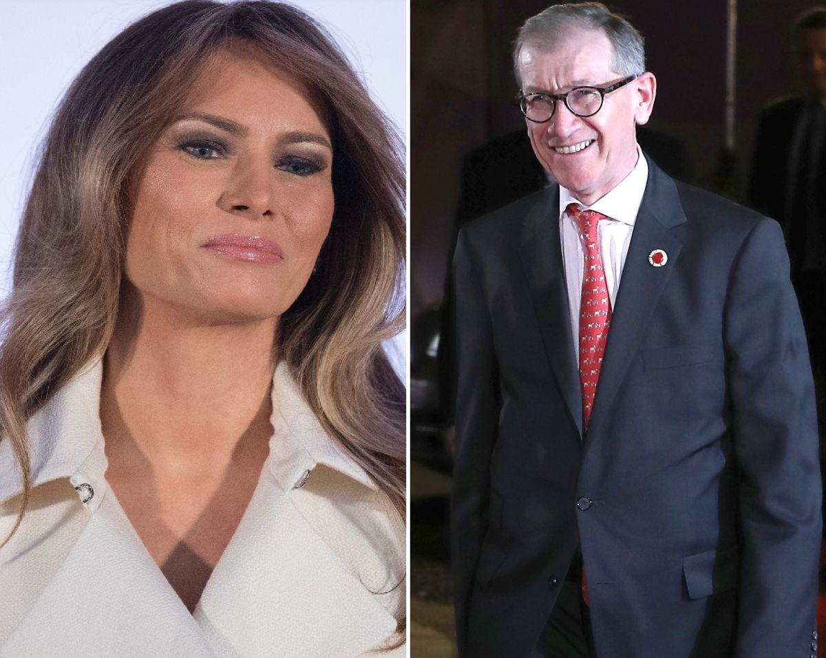 Esposo de primera ministra de Inglaterra quiere impresionar a Melania Trump