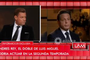 Andrés Rey, el doble de Luis Miguel ¿interpretará al cantante en la segunda temporada de la serie?