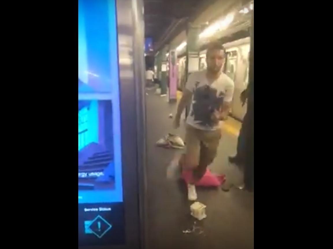 Video del caos que desató alarma de hombres armados en Subway en Brooklyn