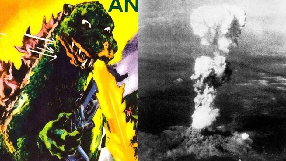 Qué tiene que ver Godzilla con las bombas nucleares de Hiroshima y Nagasaki