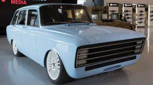 CV-1: el auto eléctrico ruso que quiere competir contra Tesla