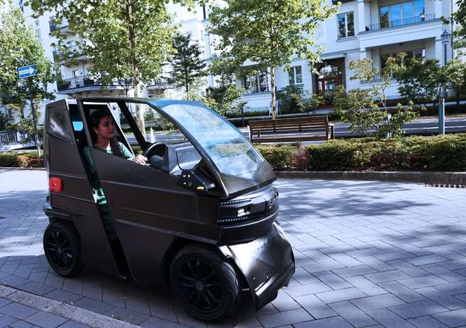 Este auto cambia de tamaño según las necesidades del dueño