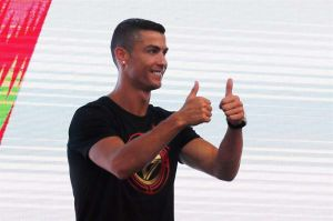 Cristiano Ronaldo viste a toda su familia de Juventus