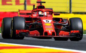 Ferrari domina a Mercedes en prácticas del Gran Premio de Bélgica