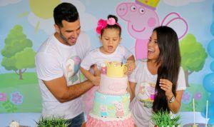Mira como el Chef Yisus le festejó los 3 años a su hija Anabella