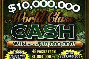 Gana $1 millón en la lotería el día de su cumpleaños