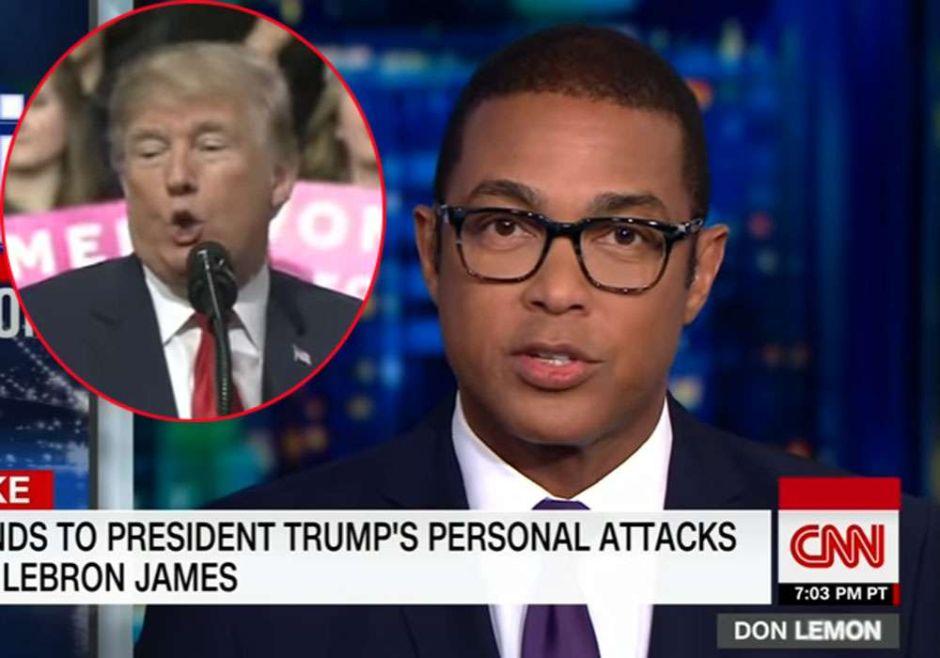 CNN ya no se guarda nada contra Trump: Don Lemon lo llama racista