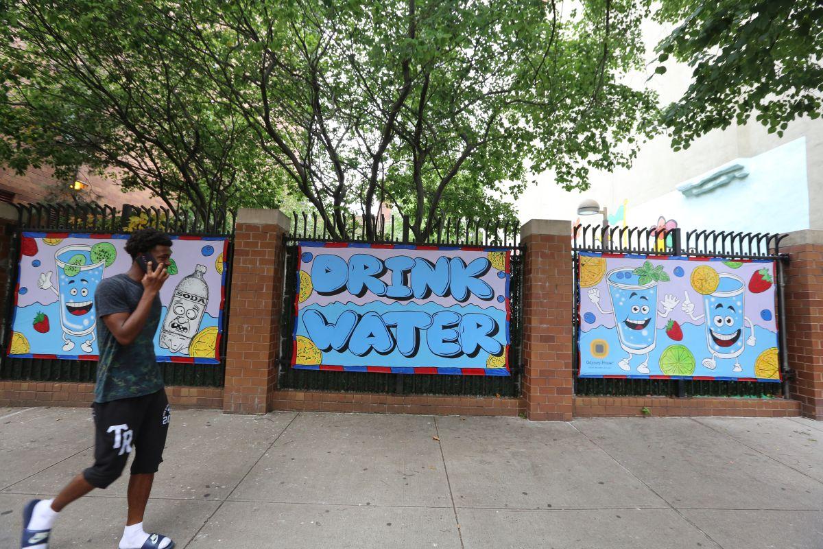 Animan a beber agua en NYC