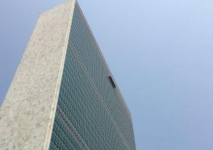 Bomberos rescatan a dos limpiadores de ventanas del piso 39 en edificio de la ONU