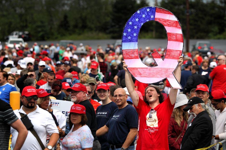¿Cuál es la teoría #QAnon que crece entre seguidores de Trump?