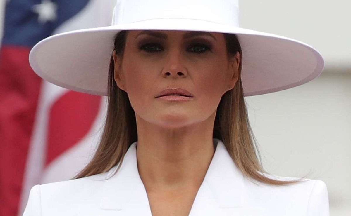 La primera dama Melania Trump.