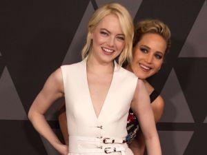 Las cositas de Jennifer Lawrence y Emma Stone en Hollywood