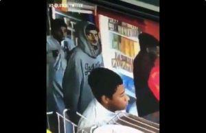 Video: La increíble reacción de un ladrón al percatarse que es grabado por una cámara de seguridad