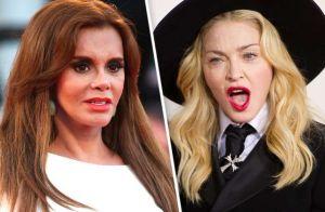 Lucía Méndez se expone al ridículo con Madonna
