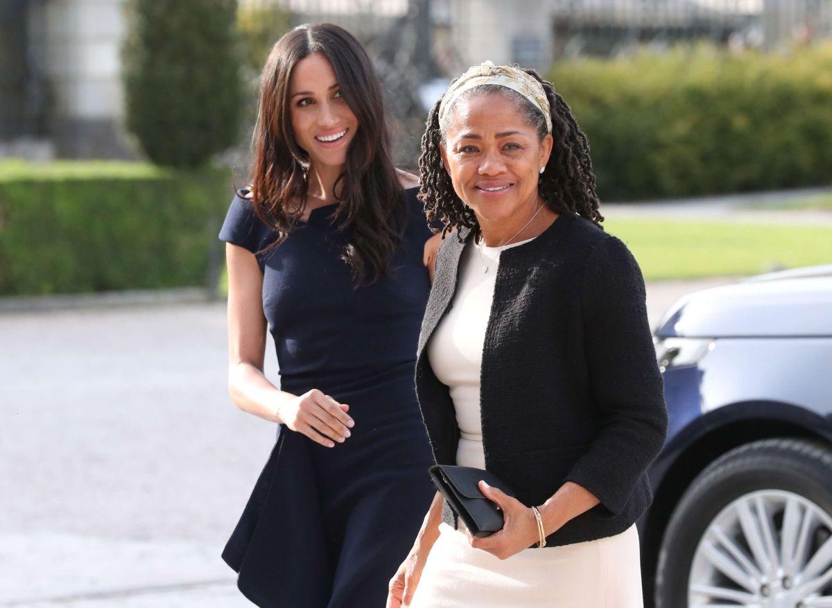 """Doria Ragland estuvo junto a Meghan Markle, la duquesa de Sussex, durante el nacimiento del """"royal baby"""""""