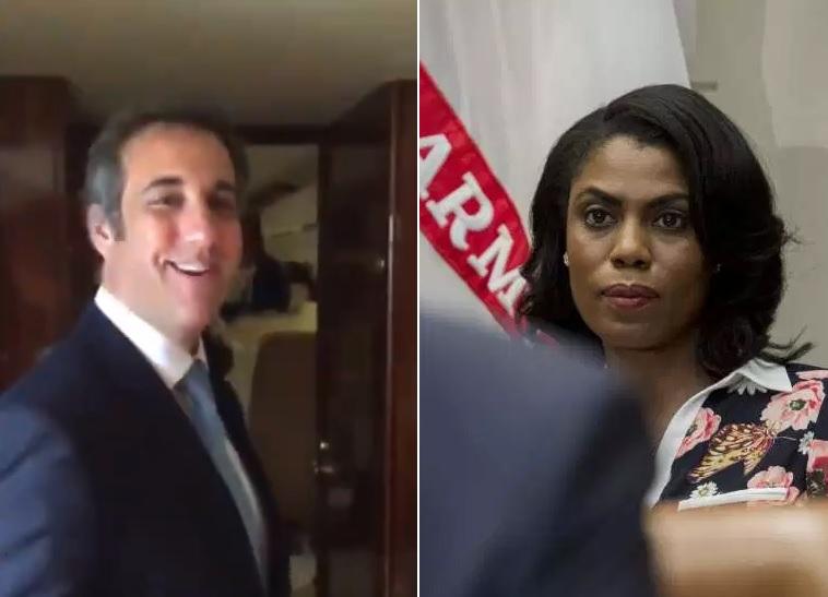 Omarosa revela video de exabogado personal de Trump
