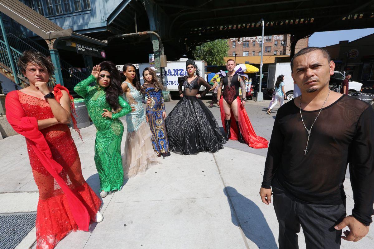 Diseñador convierte a Corona en una pasarela en la Semana de la Moda de NY
