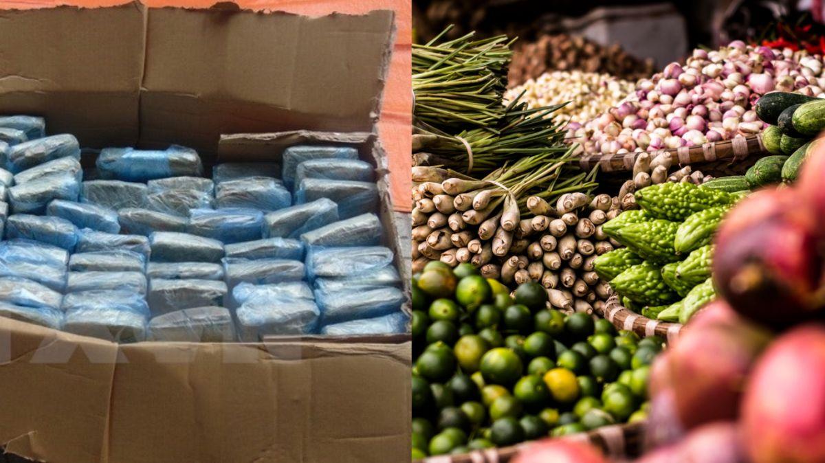 Traficantes camuflaban droga letal entre frutas y carnes dentro de mercado en Nueva York